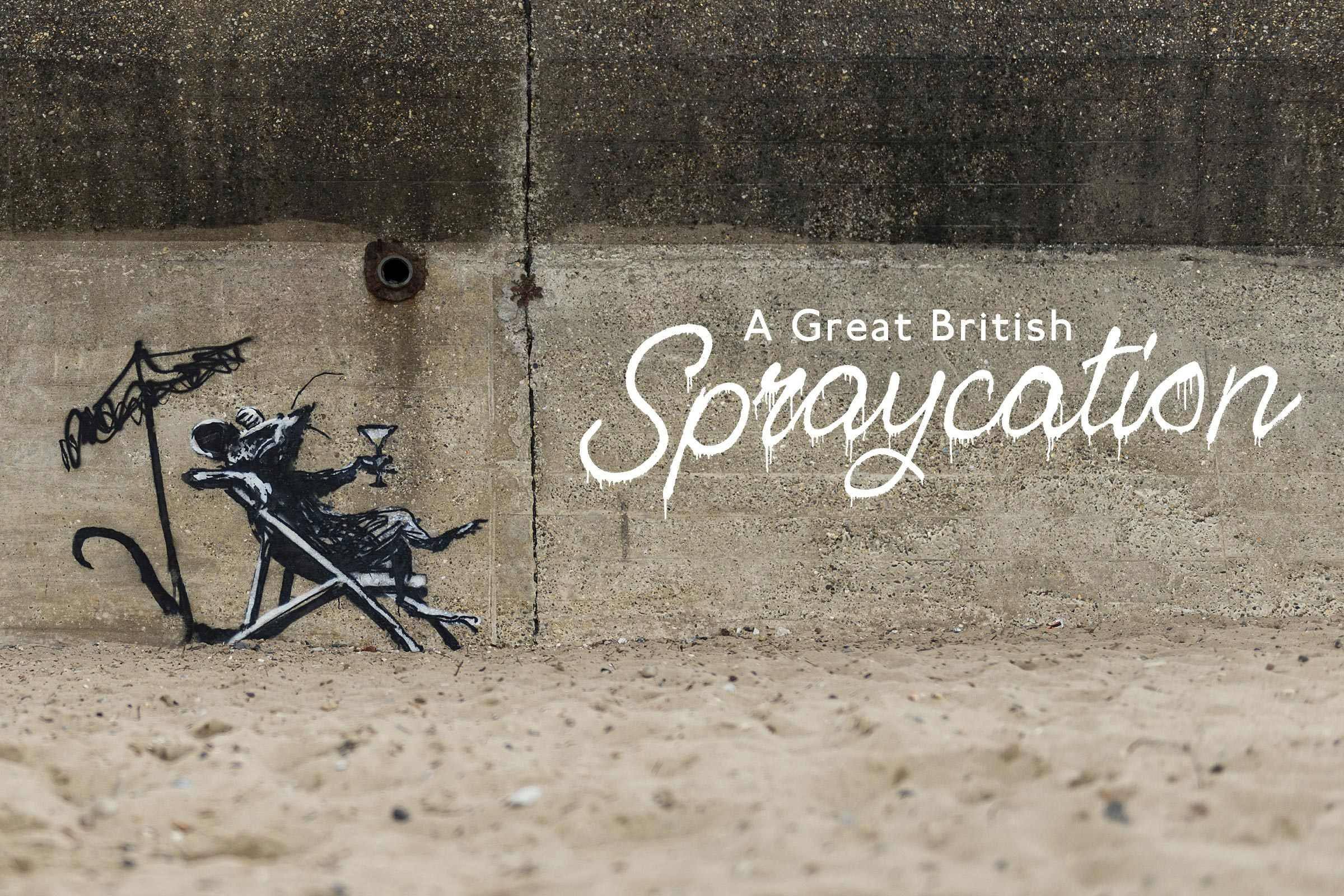 Banksy Confirms He Was Behind a Spree of New Murals That Popped Up in Coastal England Towns Earlier This Week