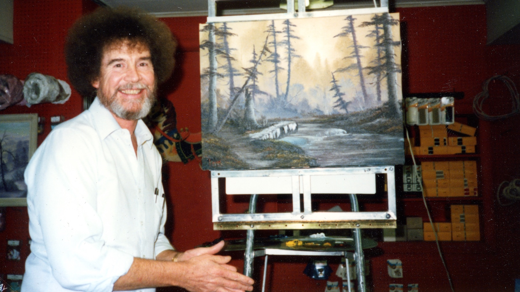 Bob Ross's Former Business Partners Hit Back at a 'Slanted' Netflix Documentary That Alleges They Seized Control of His Legacy   Artnet News