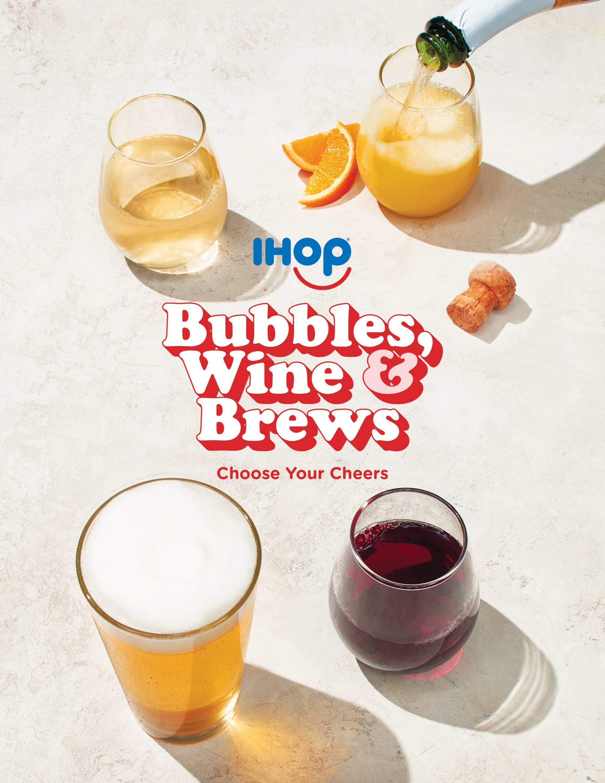 Mimosa with breakfast? IHOP is testing an alcohol menu with beer, wine and champagne at select locations
