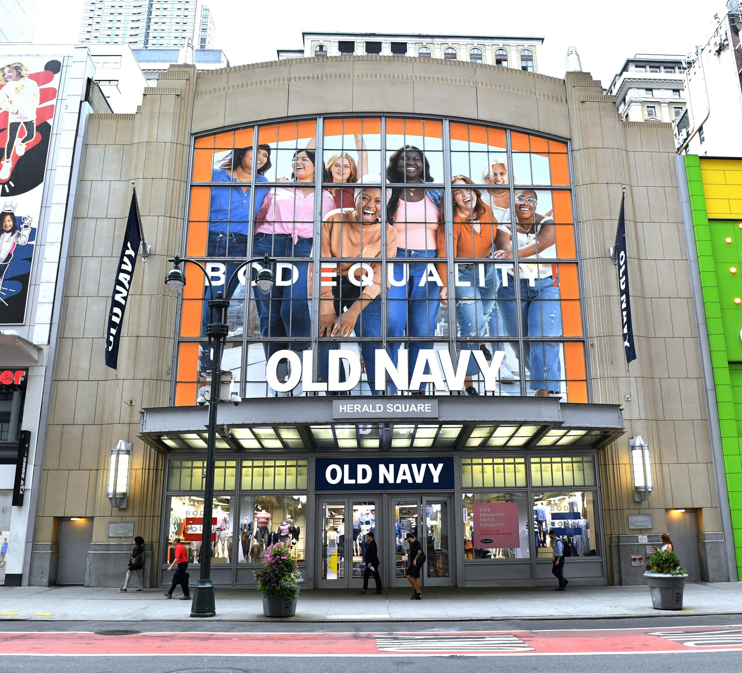 Old Navy changing sizes for women's clothes to make them more inclusive with 'BODEQUALITY' launch