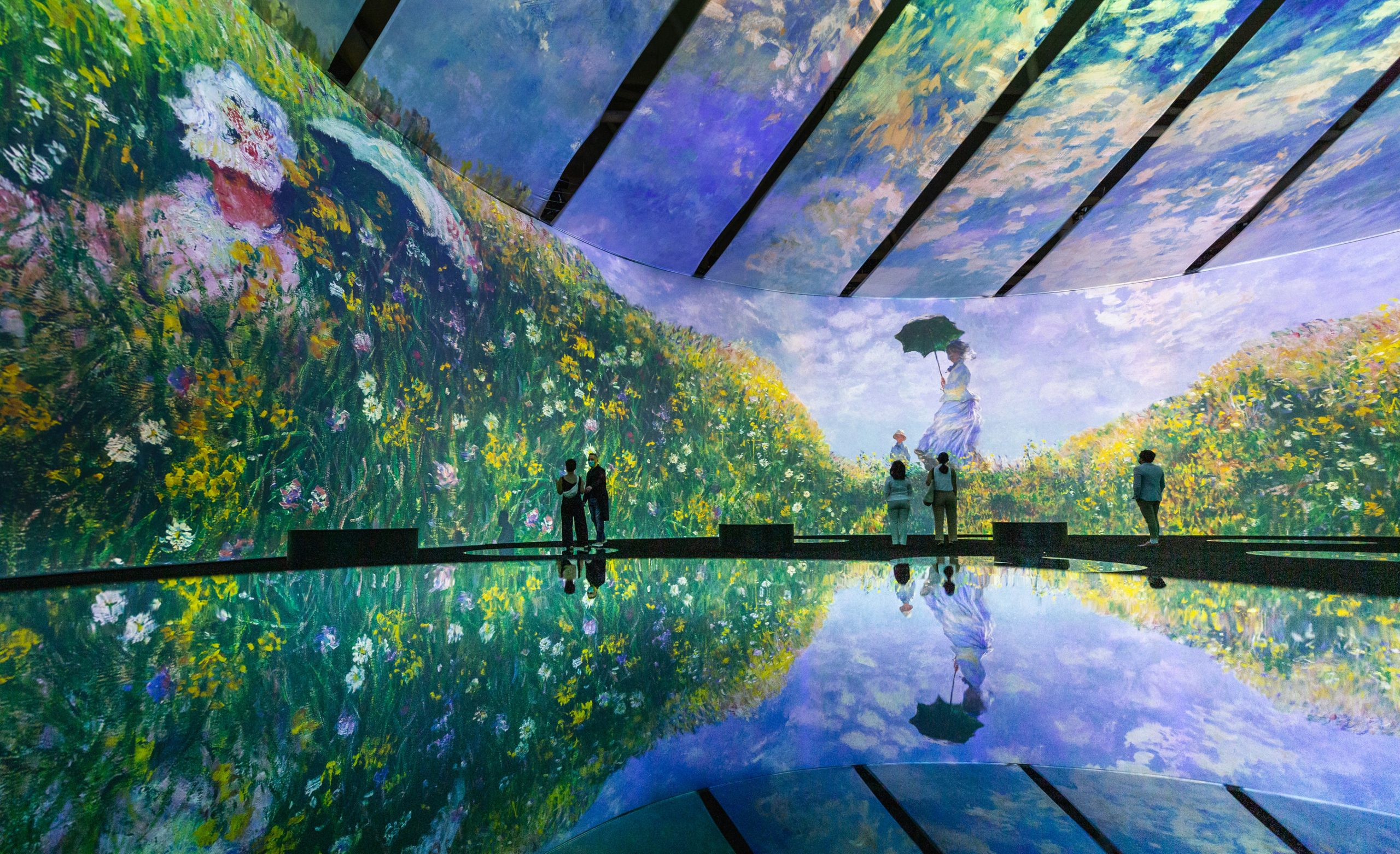 Sick of Immersive Van Gogh Already? Three Separate Companies Are Launching Competing Immersive Monet Experiences | Artnet News
