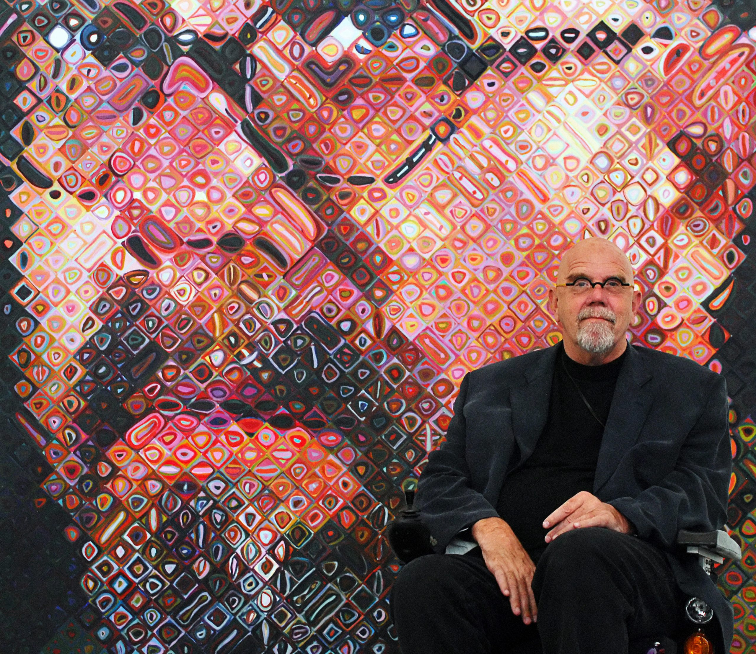The American Artist Chuck Close, Who Created Larger-Than-Life Photorealist Portraits, Has Died at 81   Artnet News