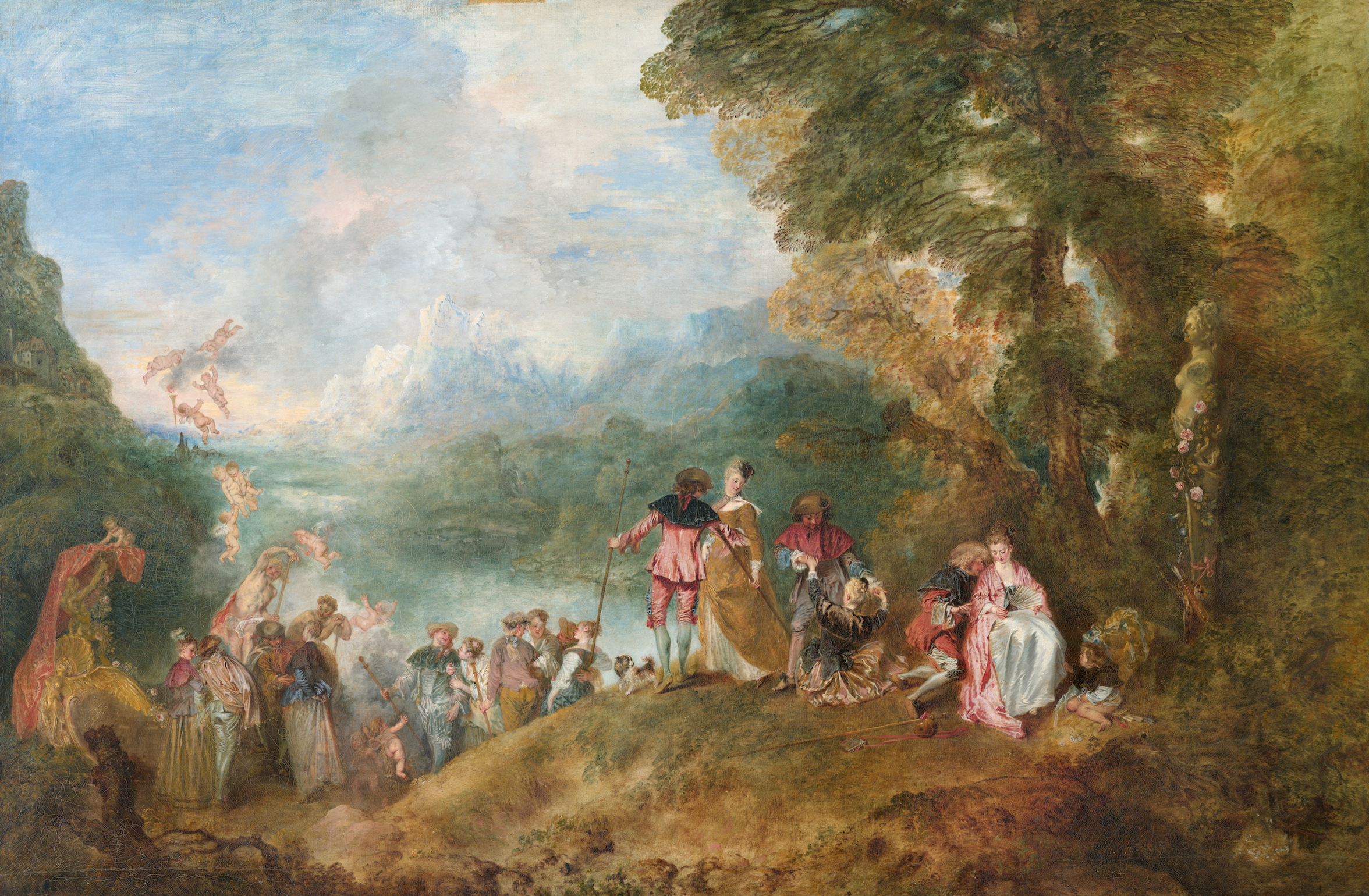 Watteau's Beloved Depiction of Dreamy Aristocratic Love is a Rococo Gem. Here Are 3 Things You May Not Know About It | Artnet News