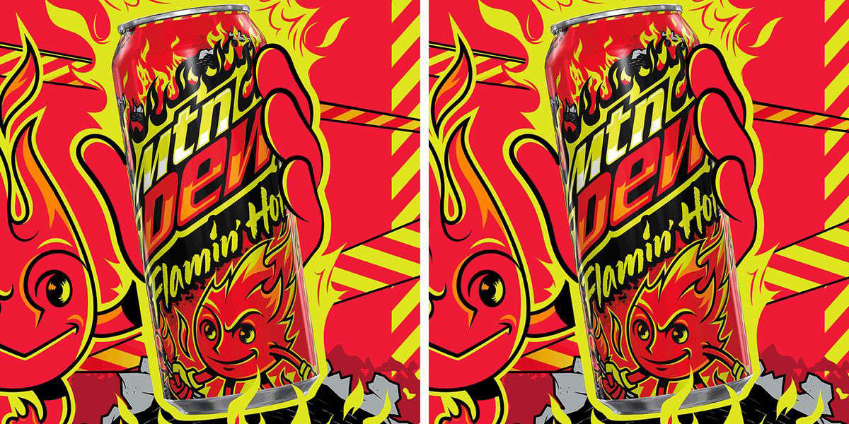 Who asked for this? We don't know. But Flamin' Hot Mountain Dew is here anyway.