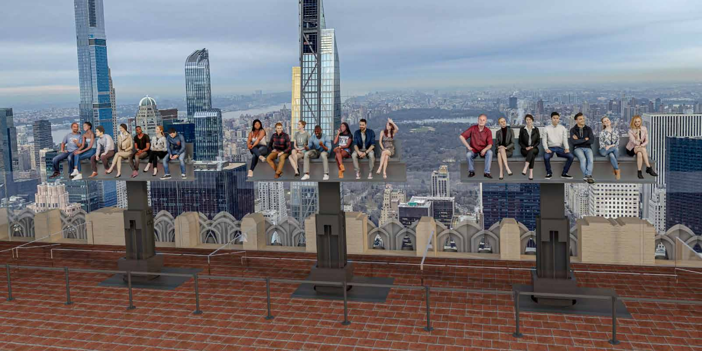 A Rockefeller Center Developer Wants to Build an Attraction for Tourists to Recreate the Famous 'Lunch Atop a Skyscraper' Photo