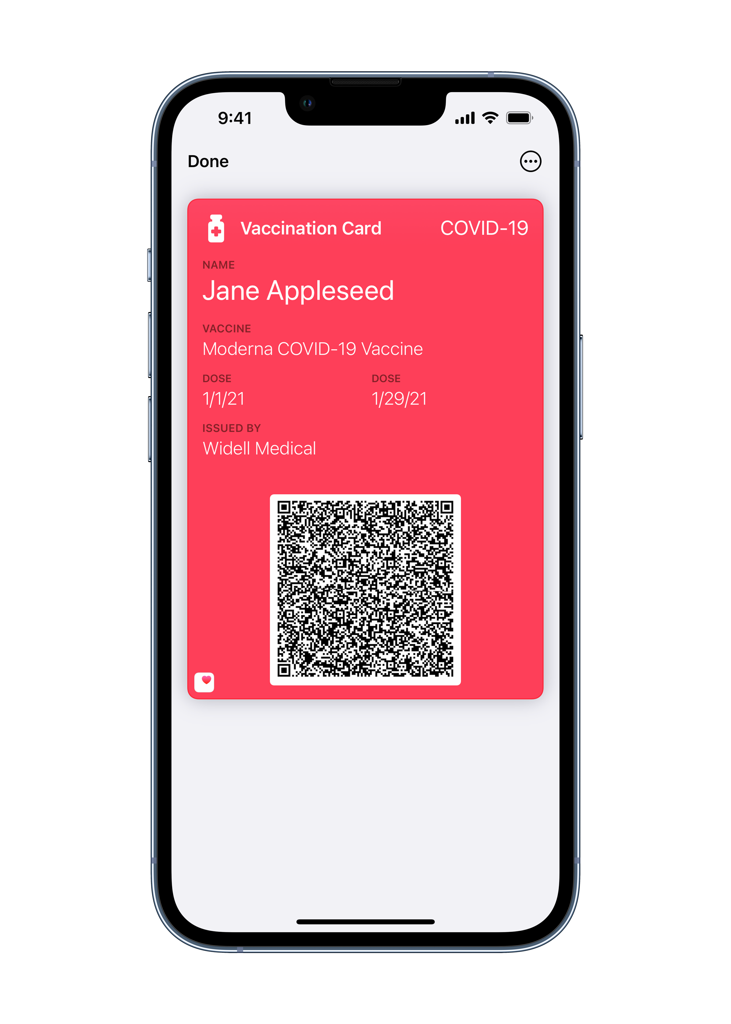 Apple will soon let you put your vaccination card in Wallet. Here's what it'll look like
