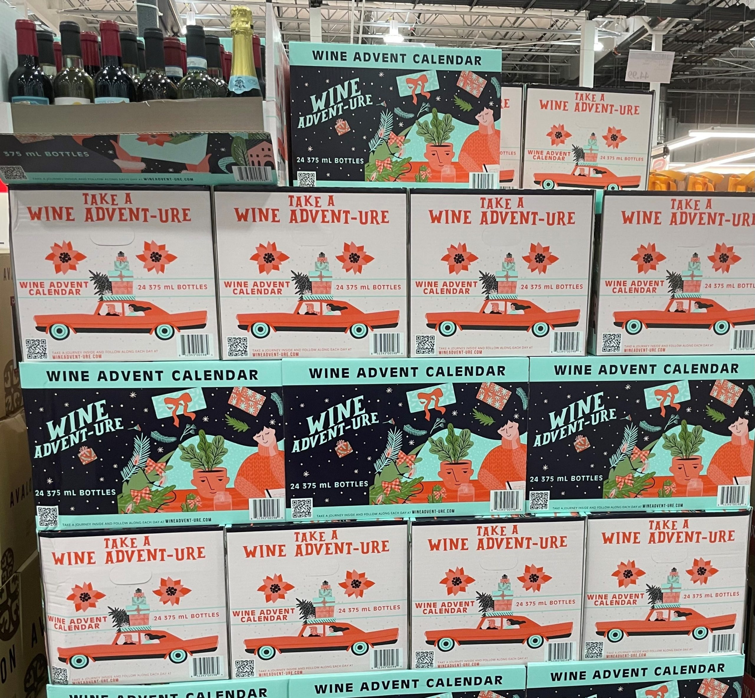 Costco Advent calendars 2021: Raise a glass, wine and beer calendars back at clubs
