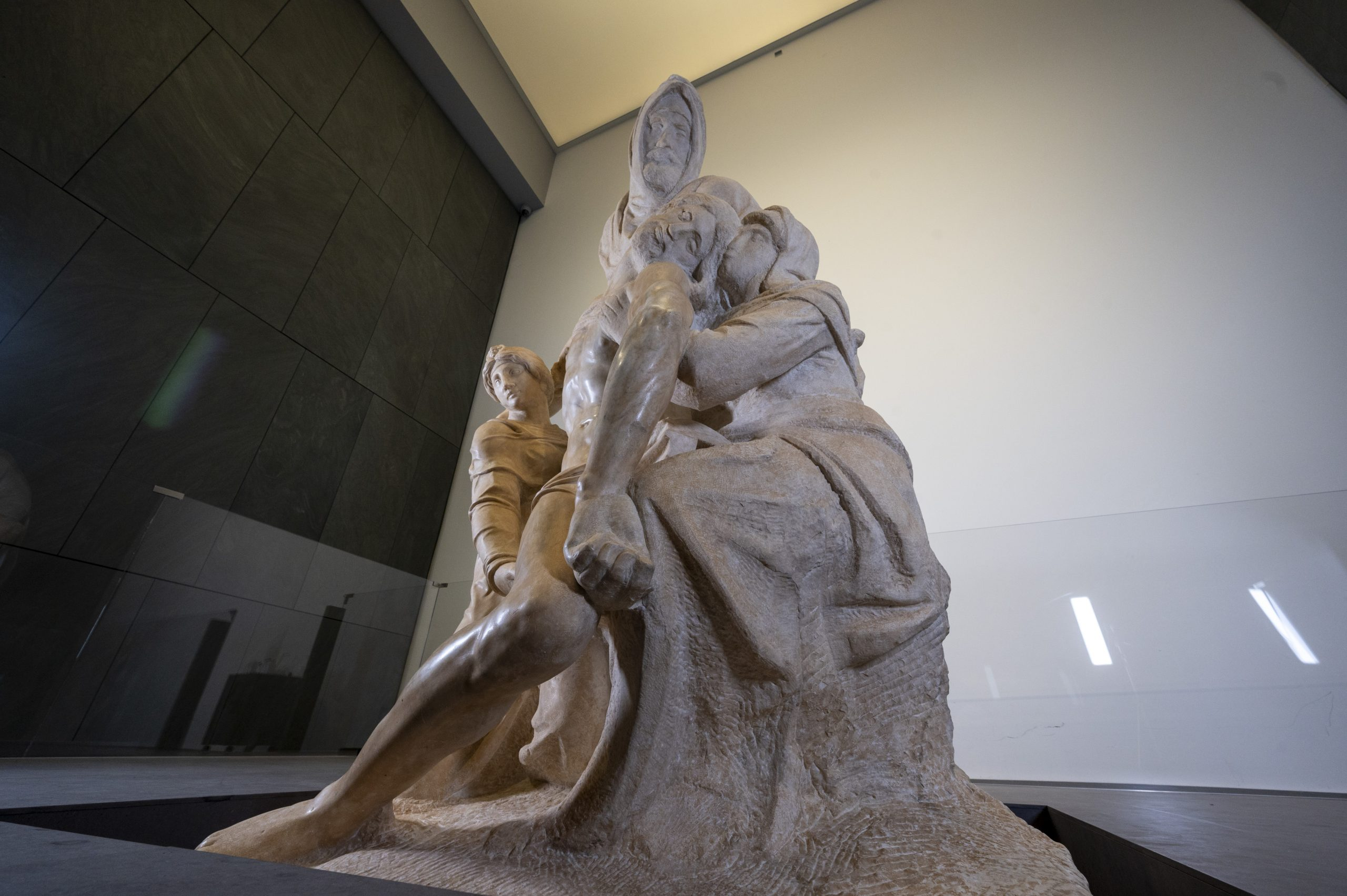 Michelangelo Made This Haunting Pieta For His Own Tomb. Conservators Have Spent Years Painstakingly Restoring It—See Their Process Here