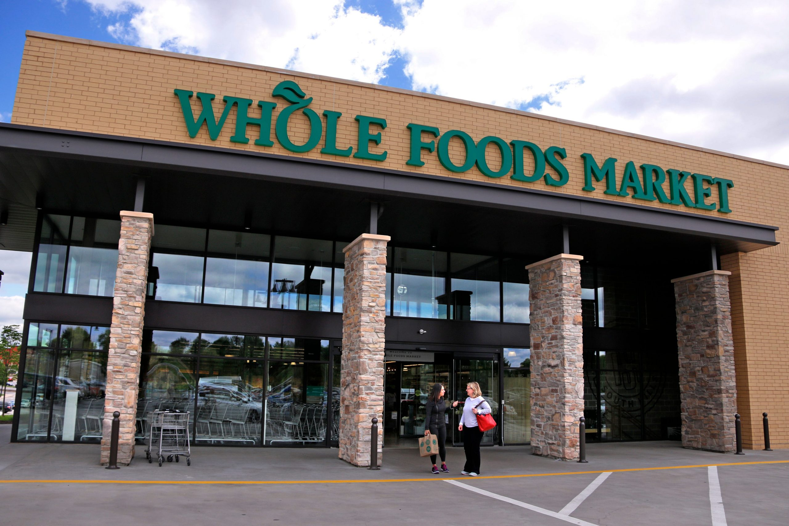 Two Whole Foods stores opening next year will let users skip the checkout line
