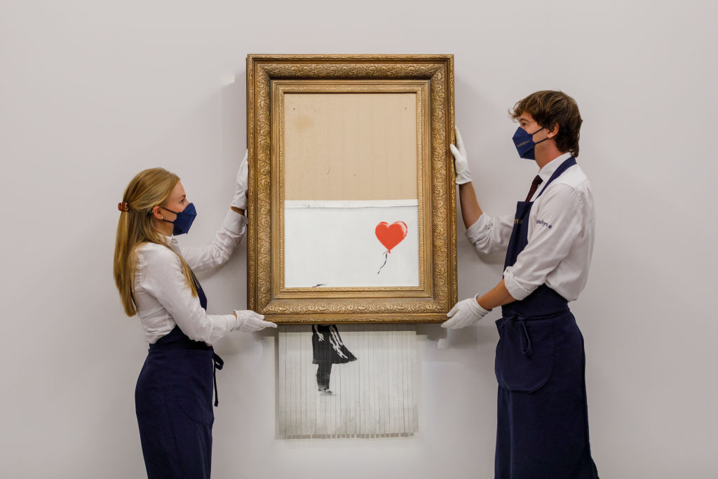 Art Industry News: Did Banksy Pull Another Bait-and-Switch When It Comes to His Notorious Self-Shredding Artwork? + Other Stories