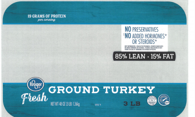 Butterball recalls more than 14,000 pounds of ground turkey for possible blue plastic bits