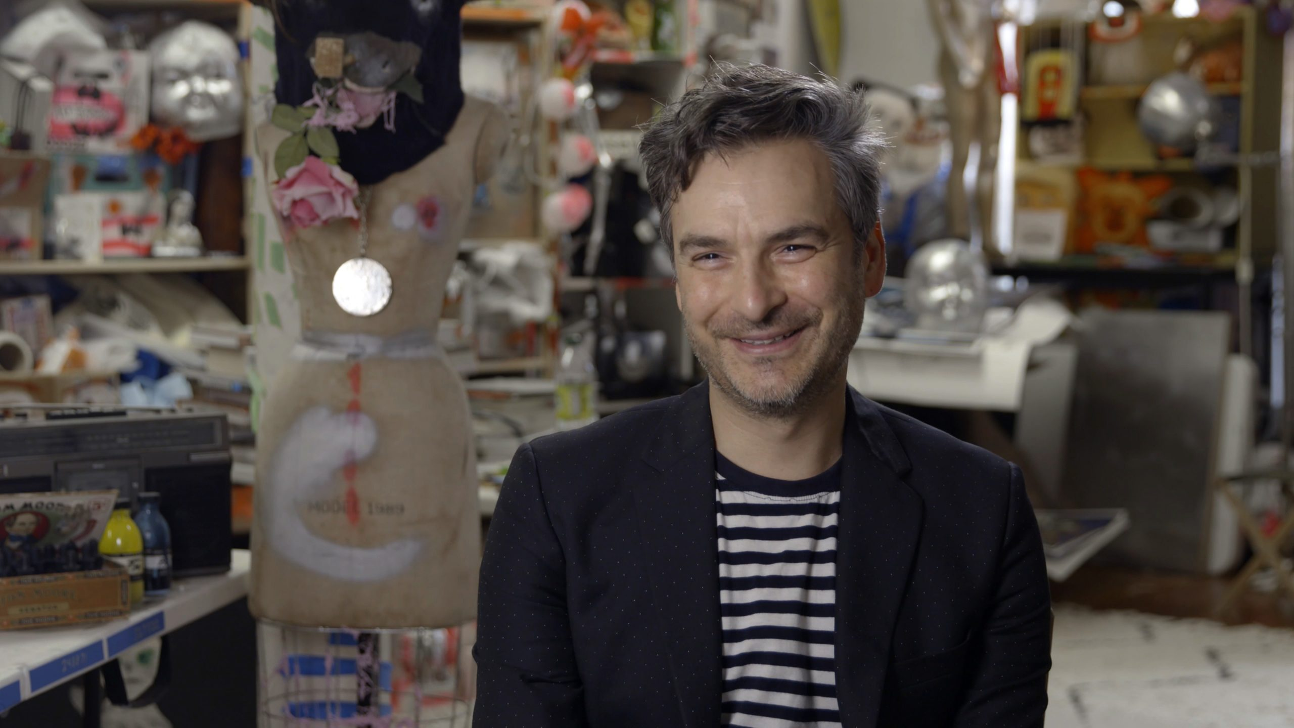 'I Have One Foot in the Subconscious and One In Reality': As His L-Train Murals Debut, Watch Marcel Dzama Explain The Dark Side of His Whimsical Art | Artnet News